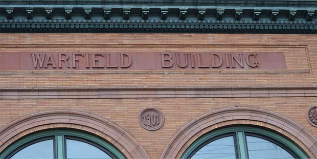 Warfield's bank building