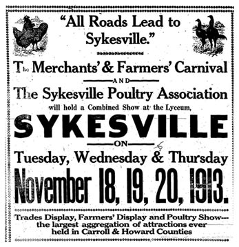 All roads led to Sykesville