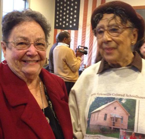 Anne White and Rosie Dorsey